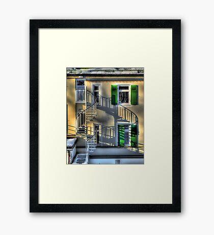 Tuscany in Deutschland Framed Print