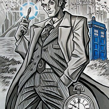 The Tenth Doctor  by rainesz
