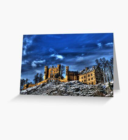 Hohenschwangau Castle Greeting Card