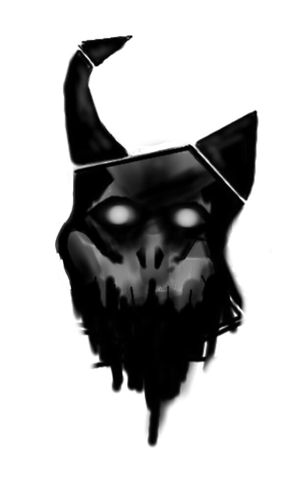 Demon head v2 zeb by Zebodia