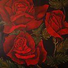 Crimson Bloom by Anna Maria Williams