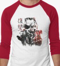 MGSV - All For Revenge (Japanese Kanji) Men's Baseball ¾ T-Shirt