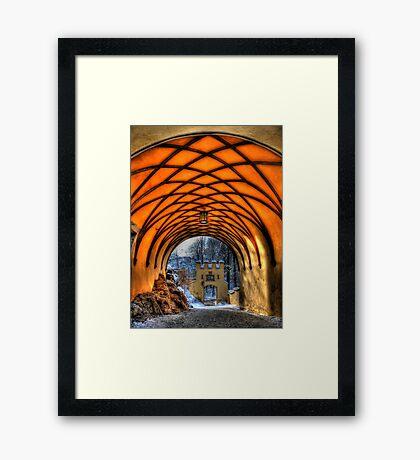 Royal Tunnel Vision Framed Print