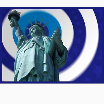 Liberty Blur Blue by sethgronquist