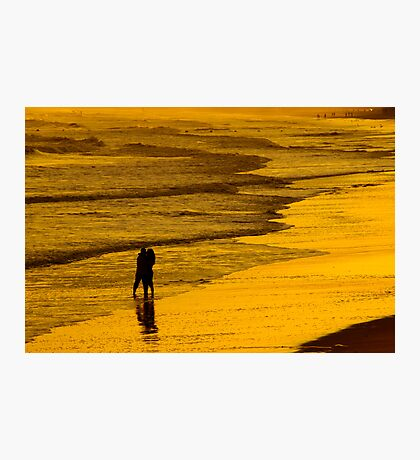 Sunset Kiss Photographic Print