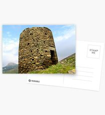 Ruins of wind mill Postcards