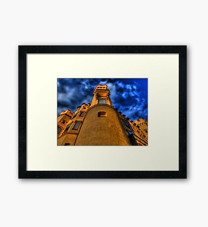 Up Close & Personal - Hohenschwangau Castle Framed Print