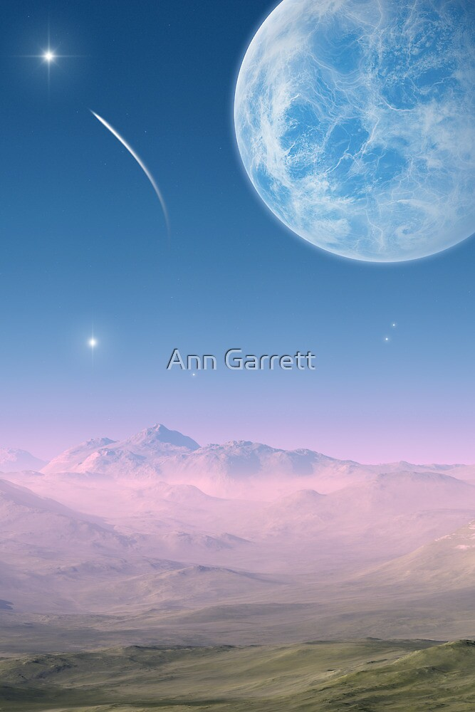 Shooting Star by Ann Garrett
