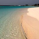 Gentle Surf, Long Island, Bahamas by Shane Pinder