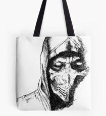 Scorpion Mortal Kombat X Tote Bag
