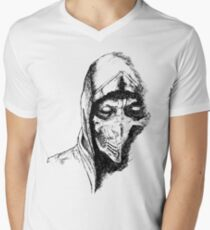 Scorpion Mortal Kombat X Men's V-Neck T-Shirt