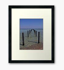 Tranquility - Egypt. Framed Print