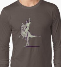 Jesus Riding Dinosaur T-Shirt