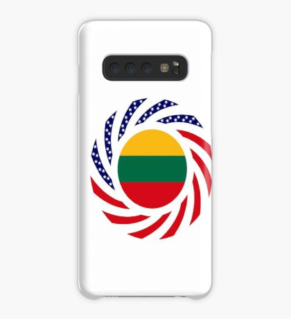 Lithuanian American Multinational Patriot Flag Series Case/Skin for Samsung Galaxy