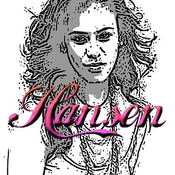 Dinah Hansen sketch by DSFLi