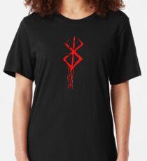 Camiseta ajustada marca de sacrificio berserk