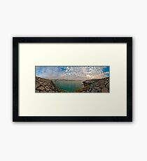 Go back to the West Framed Print