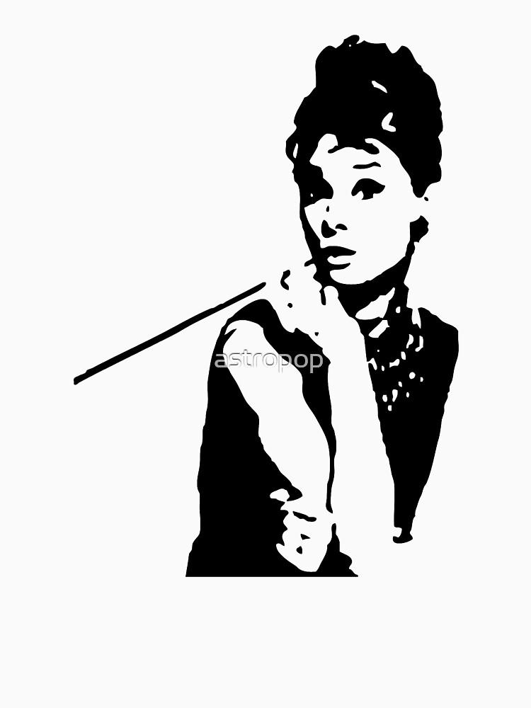 Desayuno de Audrey Hepburn en Tiffanys de astropop
