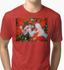 ASLEEP IN THE POPPIES , WIZARD OF OZ Tri-blend T-Shirt