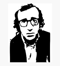 Annie Hall Woody Allen Stencil Photographic Print