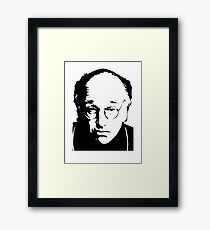 Seinfeld Comedian Larry David Framed Print