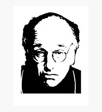 Seinfeld Comedian Larry David Photographic Print