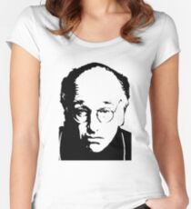 Seinfeld Comedian Larry David Women's Fitted Scoop T-Shirt