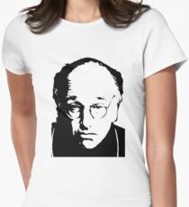 Seinfeld Comedian Larry David Women's Fitted T-Shirt