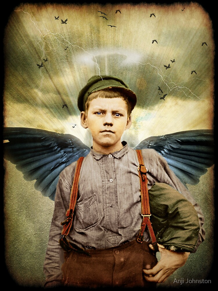 The Boy With The Broken Halo by Anji Johnston