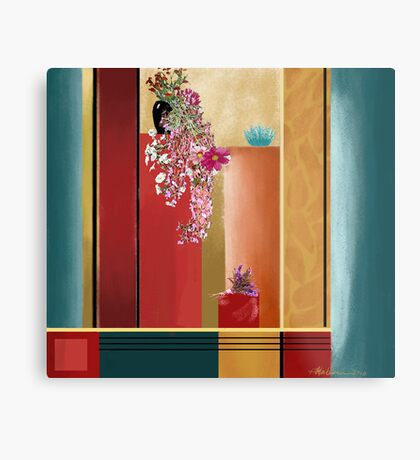 """Small Bouquet"" - Abstract realism Metal Print"