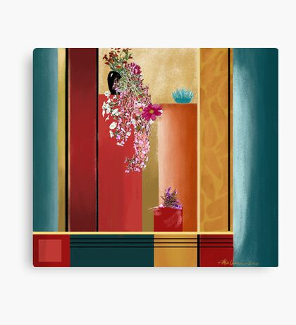 """Small Bouquet"" - Abstract realism Canvas Print"
