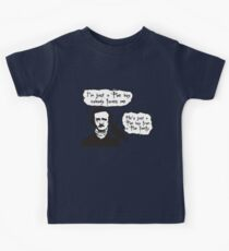 I'm just a Poe boy nobody loves me Kids Clothes