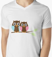 Owl love you Mens V-Neck T-Shirt