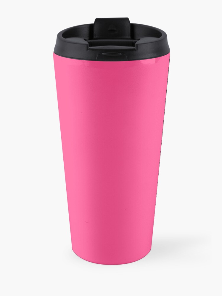 Alternate view of Duckie classic pin-up in pink Travel Mug