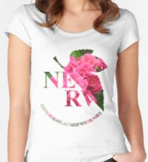 rosy nerv Women's Fitted Scoop T-Shirt