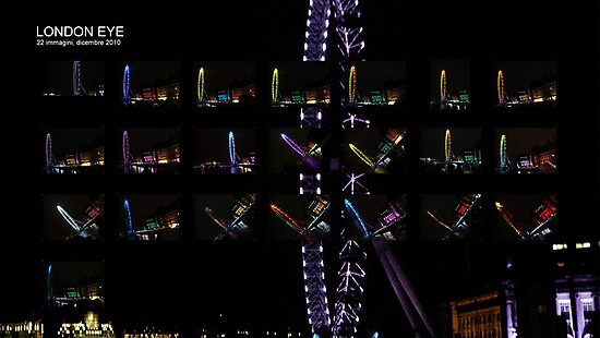 Amazing London - LONDON EYE 31st December 2010 - (UK) by Daniela Cifarelli
