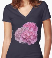 What Is So Rare As a Perfect Bloom? Fitted V-Neck T-Shirt
