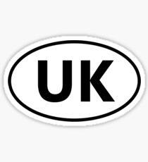 UK Sticker Sticker