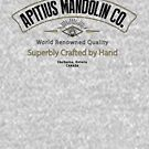 Apitius Mandolins Logo in Black by ApitiusMandos