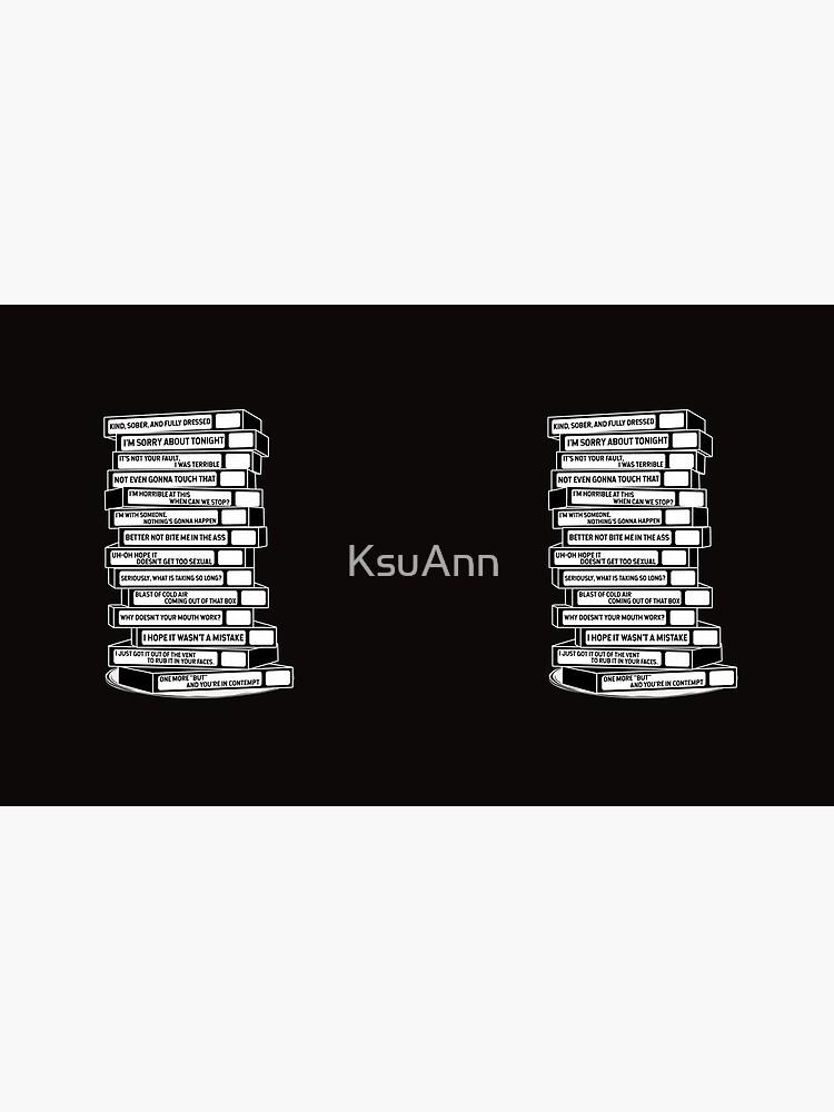 B'99 Sex Tapes by KsuAnn