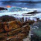 Mystery Bay Sunrise by Petehamilton