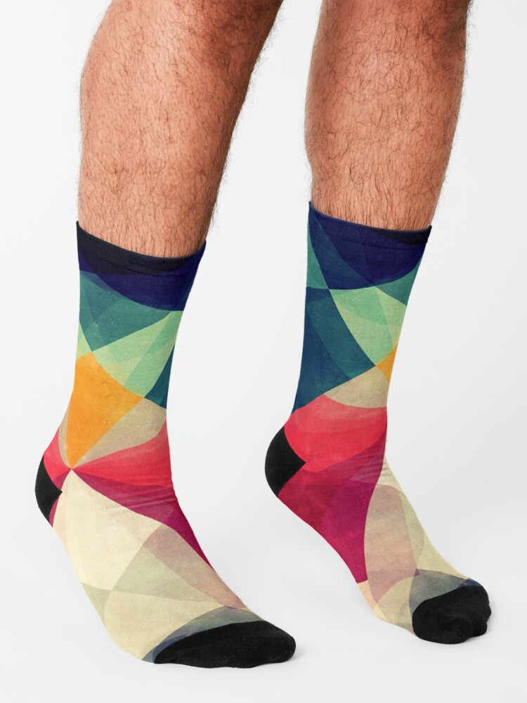 Alternate view of Meet me halfway Socks