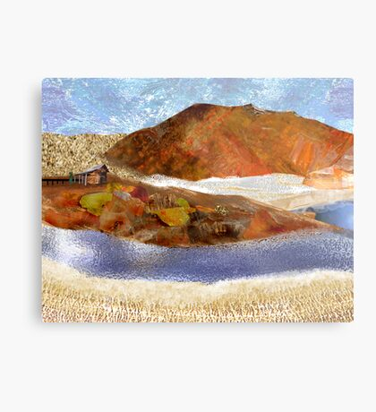 """Big Rock Candy Mountain"" Metal Print"