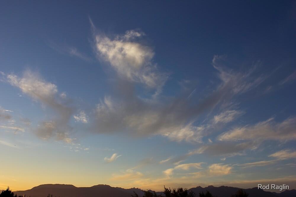 A Gathering of Sunset Sylphs by Rod Raglin
