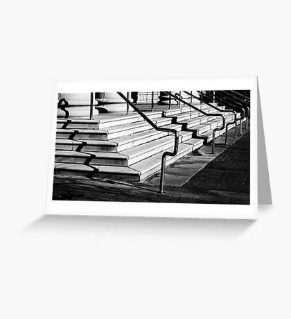 Steps To Justice Greeting Card