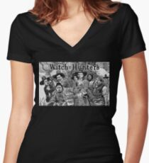 Witch Hunters Fitted V-Neck T-Shirt
