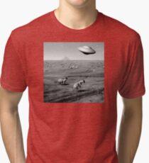 Night Flight Tri-blend T-Shirt