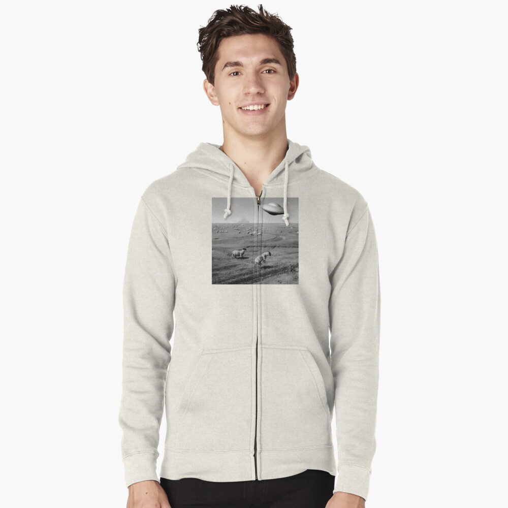 Night Flight Zipped Hoodie