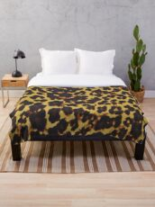 Exotic-ReAL LeOparD Throw Blanket