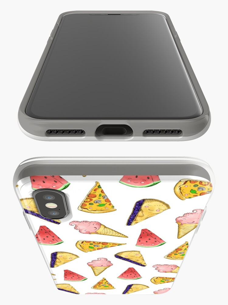 Alternate view of Happy Picnic Triangles iPhone Case & Cover